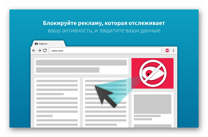 Картинка Расширение Adblock Plus для Яндекс.Браузера
