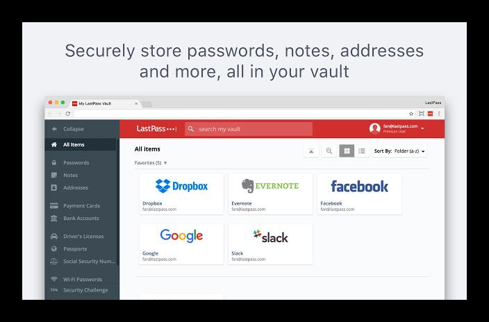 Картинка Расширение LastPass для Яндекс.Браузера