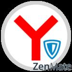 Расширение ZenMate VPN для Яндекс.Браузера