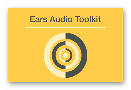 Логотип Ears Audio Toolkit