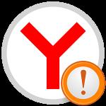Параллельная конфигурация неправильна в Яндекс.Браузере